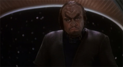 Worf fought the law...