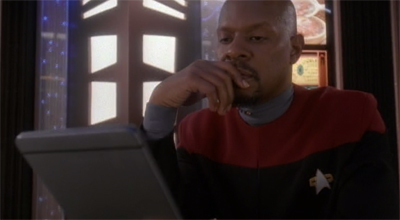 Sisko is not amused.