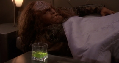 """I had the most horrible dream. I dreamt I was Jake Sisko."""