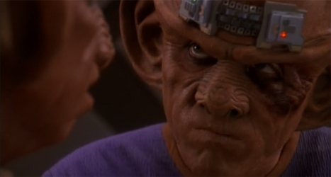 Don't beat yourself up, Quark...