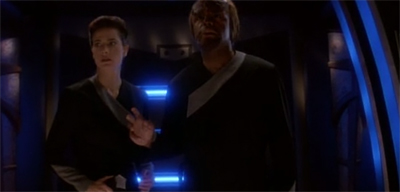 """If it turns out to be a threat, please; allow them to beat me up first. That is how it worked on the Enterprise."""