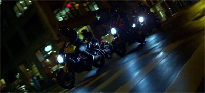 Ninja bikers from hell!