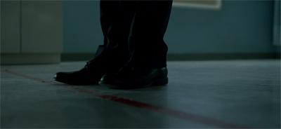 Matt walks the thin red line.