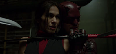 Elektra's neck is on the line...