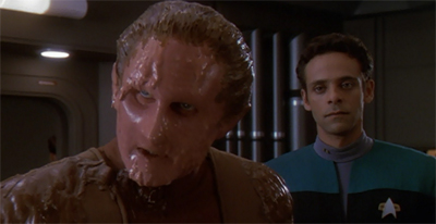 Odo was as goo as his word...