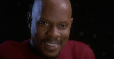 Benjamin Sisko is happy. This cannot last.