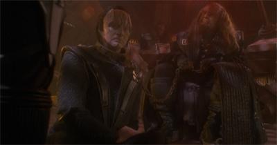 Kneel before Worf!