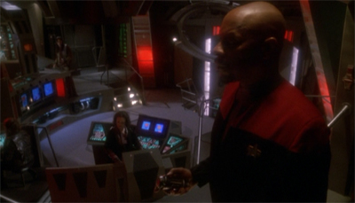 """Aye, Captain. Lighting set to 'mood'."""