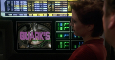 """Well, he did flag this to Sisko back in The Jem'Hadar."""