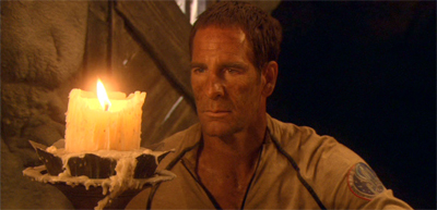 """""""I saw Gary Graham teach Kes to put out a candle with her mind. I thought I'd try it."""""""