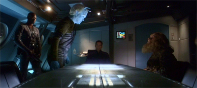 """""""Trust me, Captain. It's only a matter of time before somebody murders a Tellarite at one of these things."""""""