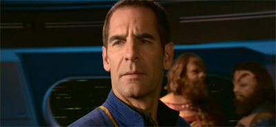 """""""Spock dies?"""" Archer does not care for three-decade old spoilers."""