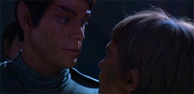 Romulan ailed.