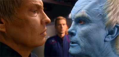 He could threaten Soval until he was blue in the face.