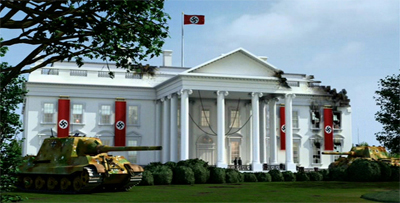 A whole new meaning to the 'White' House.