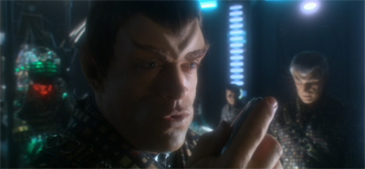 """You can trust me. I'm a pre-TNG Romulan. We're all about the honour."""