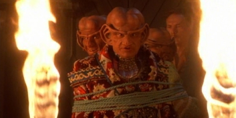 """Now, I know fans don't like the Ferengi episodes, but this is too much!"""