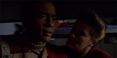 Getting inside Tuvok's head.