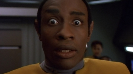 Tim Russ was as excited as anyone to get a Tuvok episode.