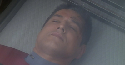 [Insert cheap shot about Robert Beltran's performance style.]