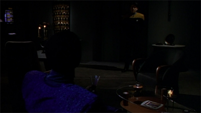 """Yes, lounging is an important Vulcan pastime."""