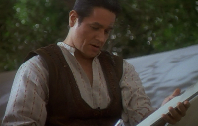 [Insert second cheap shot about Robert Beltran's performance style.]