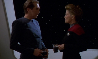 """""""I mean, think of what would happen to the Nechani tourist industry if she dies. Well, actually, we'd still be one of the top ten places to visit in the Delta Quadrant."""""""