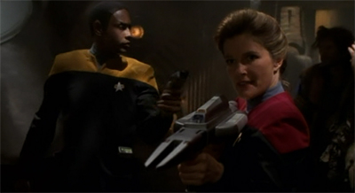 """This is a rescue, Janeway-style."""