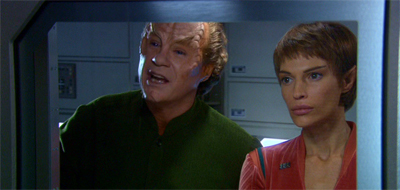 """""""Seriously? I can't believe nobody on this ship is interested in a little hot decon gel action!"""""""