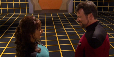 """C'mon, you didn't think they'd let Enterprise finish without a holodeck episode, did you?"""