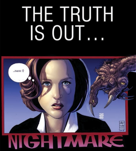 ... and so is the fact that they let Dave Sim write a Scully story.