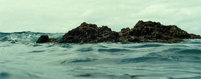 An island in the sea of... sea.