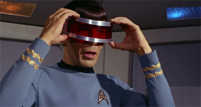 Spock, always a trusted add visor.