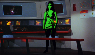 Green screen effects.