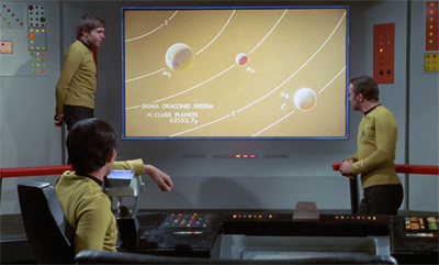 """Thank you, Mister Chekov. That is a very impressive power point presentation."""