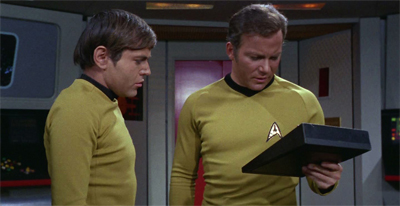 """Mister Chekov, this can't be a third season script. It makes too much sense."""