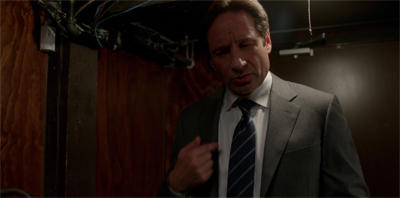 Mulder most foul.