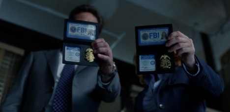 """Mulder and Scully, FBI."""