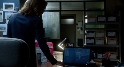 Scully should know better than to check Mulder's browsing history.
