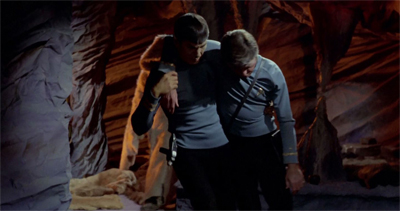 Okay. Fine. It's also a Spock and McCoy love story.