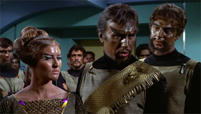 Klingon on to classic characterisation.