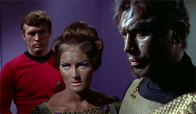 """What, Kirk? You never thought about marrying your science officer But I read on your internet --"""
