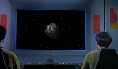 """Spock, have we seen that asteroid before?"""