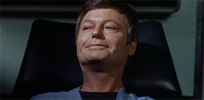 Leonard McCoy: heartbreaker and smooth operator.