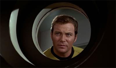 Kirk spots a plot hole.