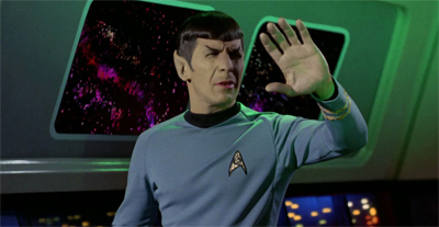 """Apologies, Captain. I appear to have accidentally caught a rerun of Spock's Brain. Avert your gaze."""