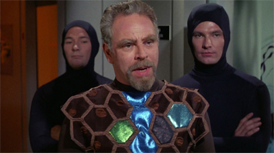 """I'm sorry, Kirk, but the only condoms Gideon will tolerate is body condoms on its fascist guards."""