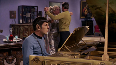 Spock remains the galaxy's best wing man.