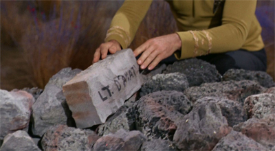 """Look, if I can't remember Chekov doesn't have a brother, I'm not likely to remember his D'Amot's first name, am I?"""