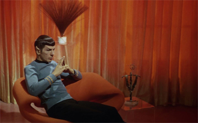 Spock's deeply personal log.